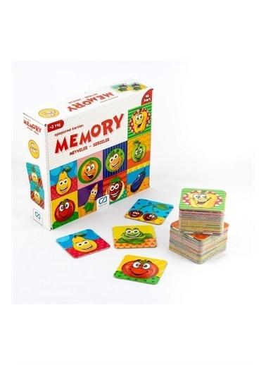 Venüs Ca Games 5040 Mey Hafıza Kartı Puzzle Meyveler Sebzeler 48 Parça Renkli